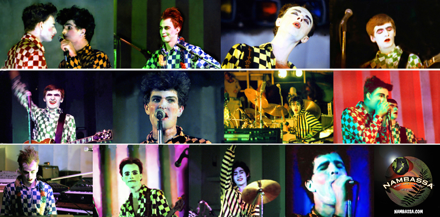 Split Enz at Nambassa January 1979